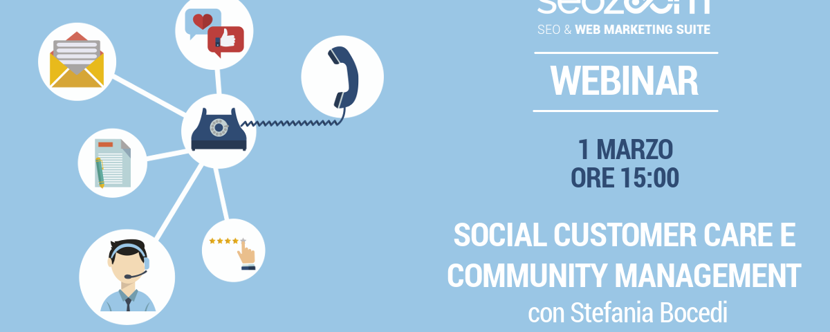 Webinar: Social customer care e Community management