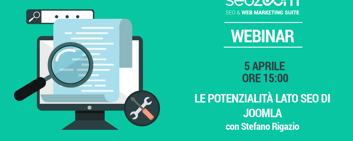 Webinar: Scopri le potenzialità lato SEO di Joomla