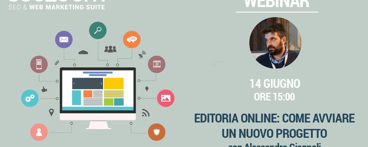 Webinar: Editoria online | Come avviare un nuovo progetto