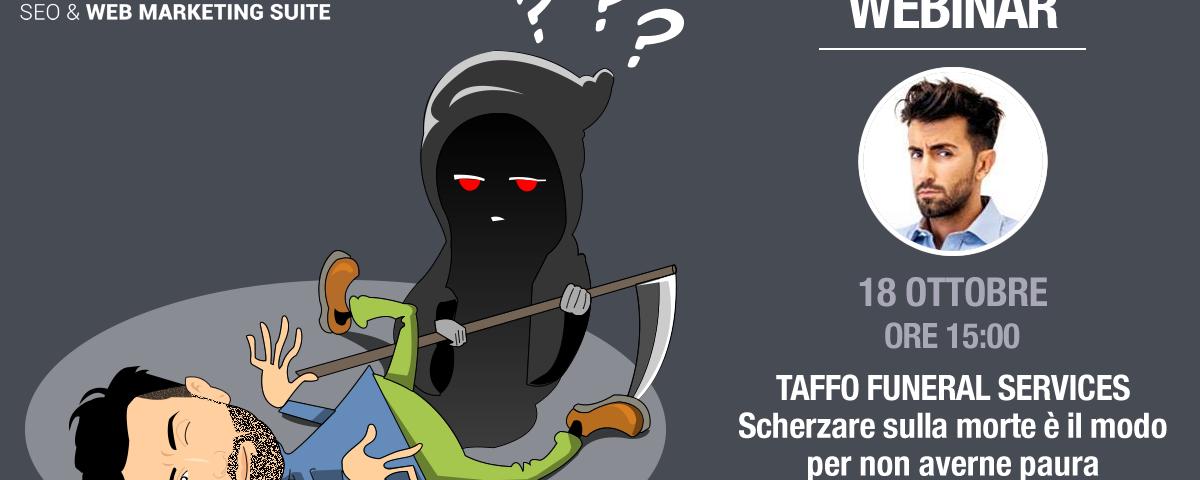 Webinar: TAFFO Funeral Services, social da morire!