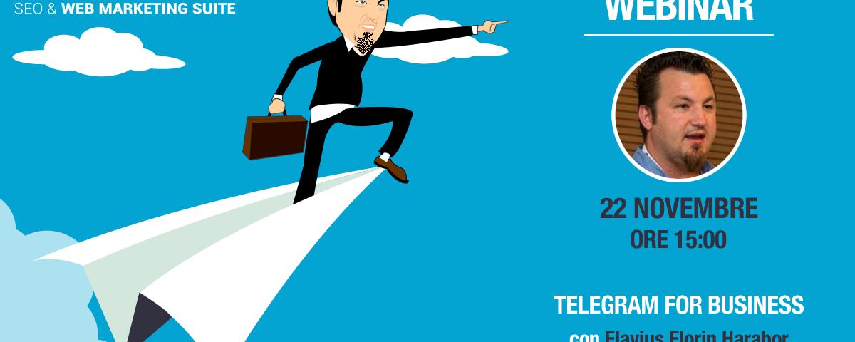Webinar: Telegram for Business