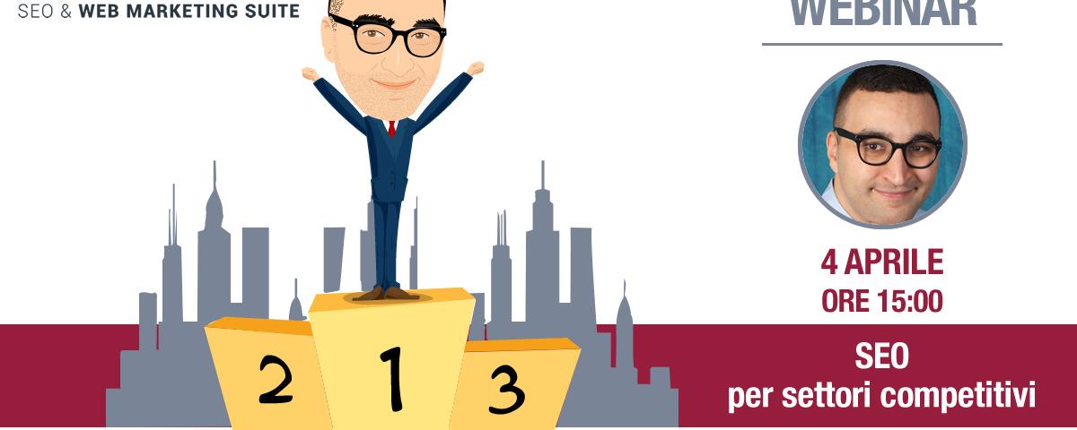 Webinar: SEO per settori competitivi