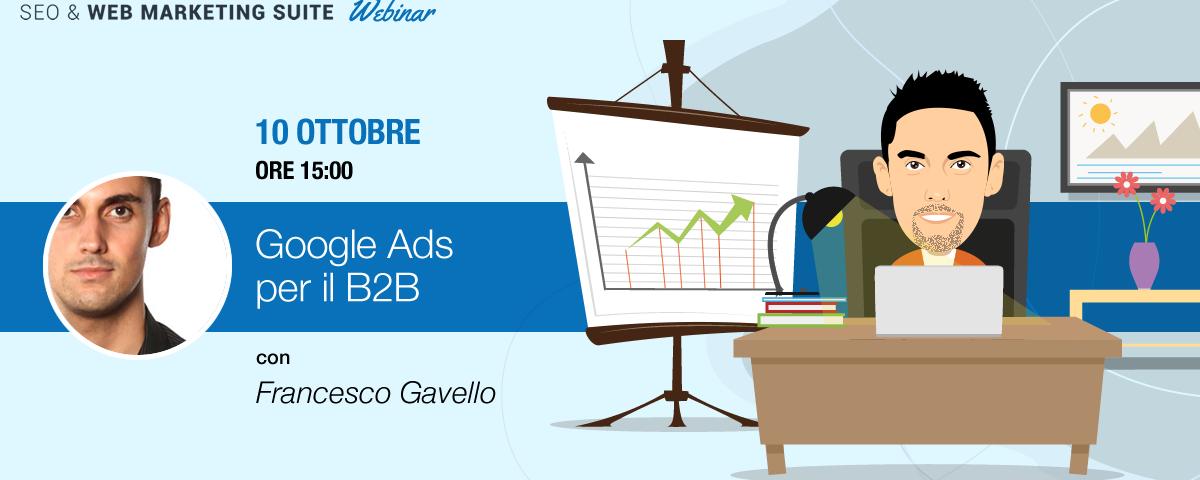 Webinar: Google Ads per il B2B