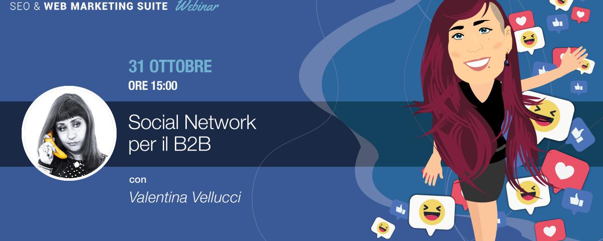Webinar: Strategie social per il B2B