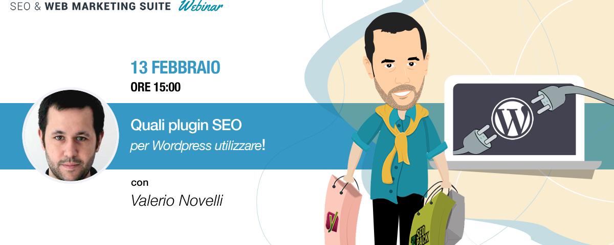 Webinar: Quali plugin SEO per WordPress utilizzare