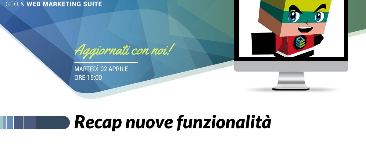 Webinar: Recap nuove funzionalità