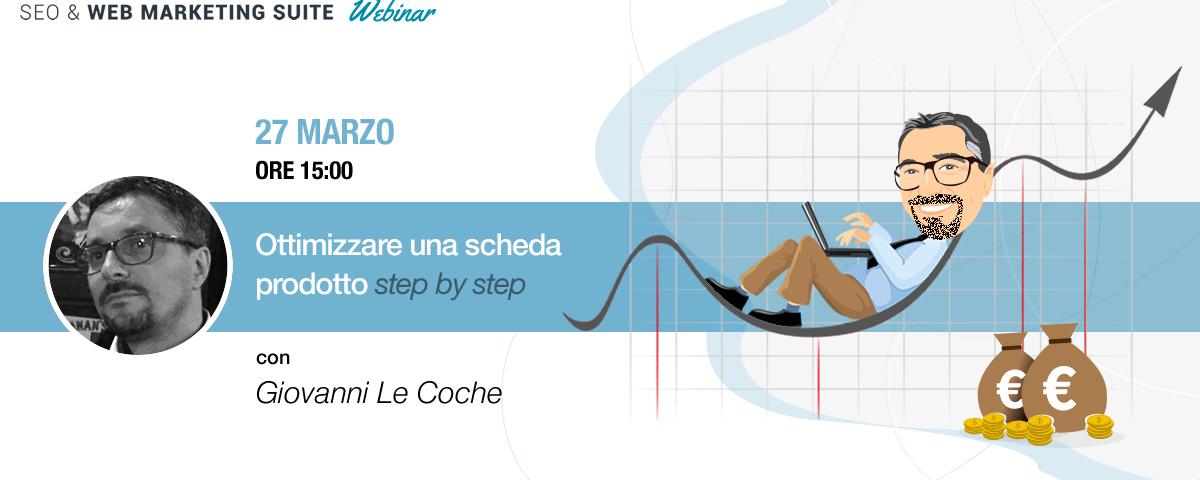 Webinar: Come ottimizzare una scheda prodotto step by step