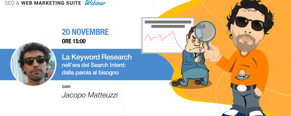 Webinar: La Keyword Research nell'era del Search Intent