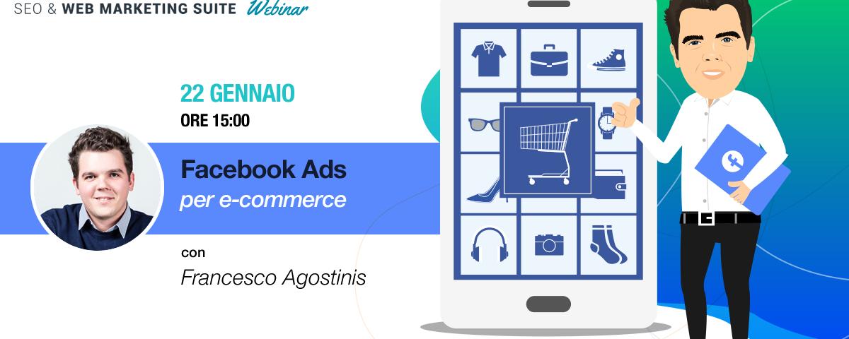 Webinar: Facebook ADS per Ecommerce