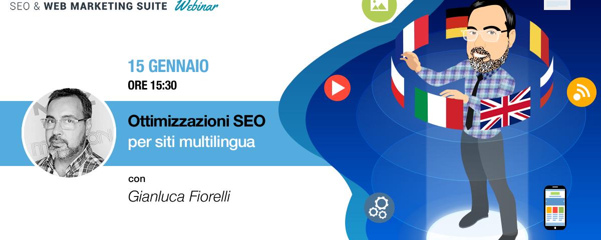 Webinar: Ottimizzazioni SEO per siti multilingua