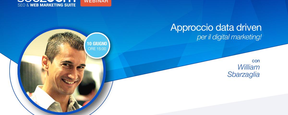 Webinar: Approccio data driven per il digital marketing