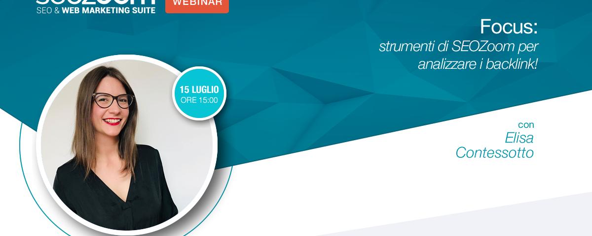 Webinar: Strumenti di SEOZoom per analizzare i backlink