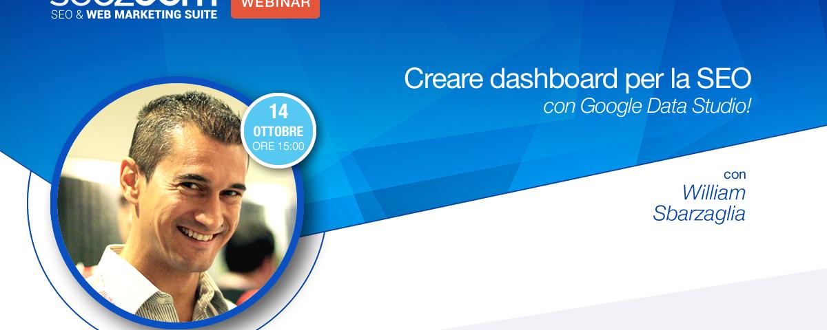 Webinar: Creare dashboard per la SEO con Google Data Studio