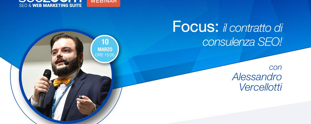 Webinar: Focus sul contratto di consulenza SEO
