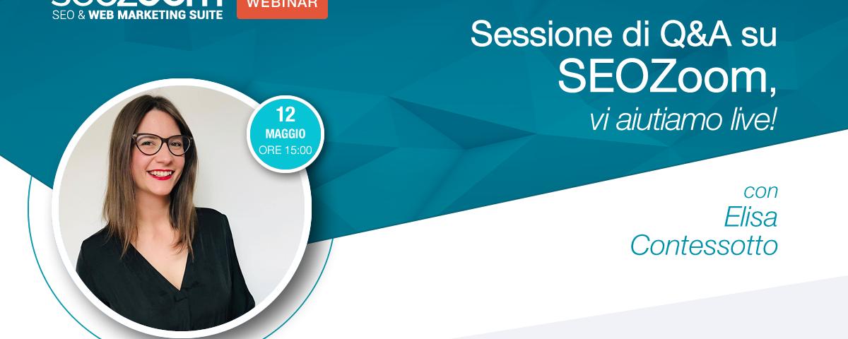 Webinar: sessione di Q&A su SEOZoom